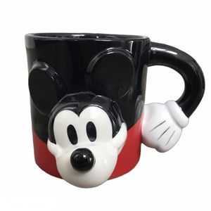Disney Store Exclusive Mickey Mouse 3D Coffee Mug